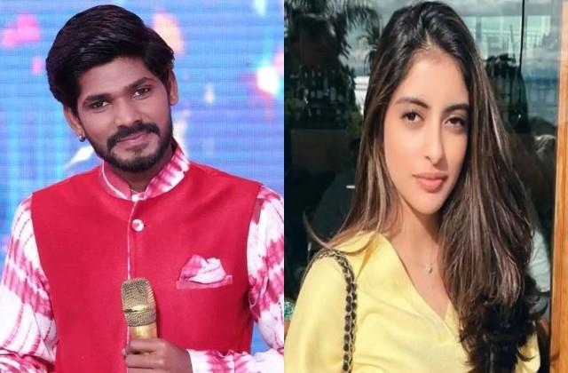 indian idol 12 contestant sawai bhatt evicted navya naveli nanda heart break