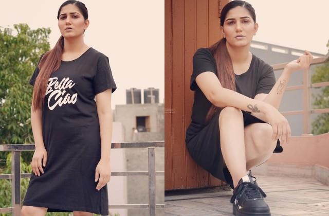 sapna choudhary shares her hot photos