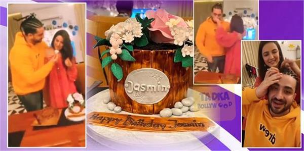 jasmin bhasin birthday celebration with boyfriend aly goni and friends in goa