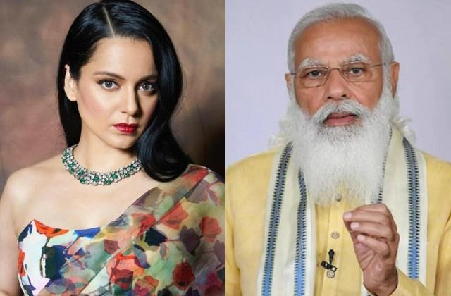 kangana ranaut expressed concern pm modi announcement of free vaccination