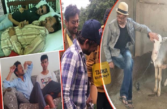 irrfan khan son babil khan shares his father old photos
