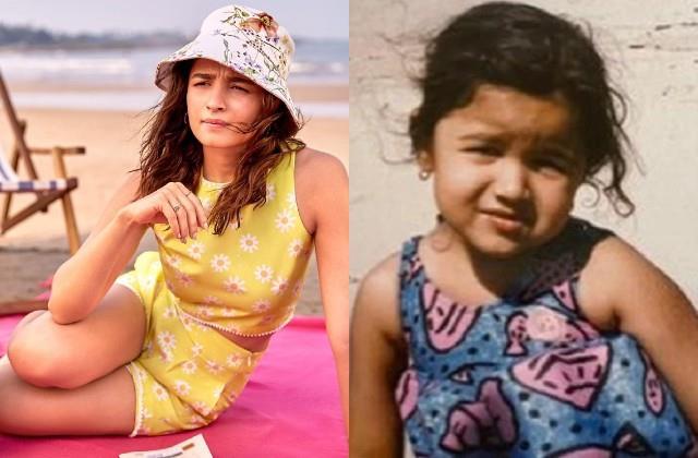 alia bhatt shares her youth and childhood photo