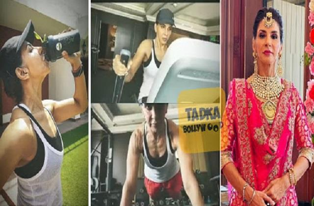 choti sardarni fame anita raj shares workout video