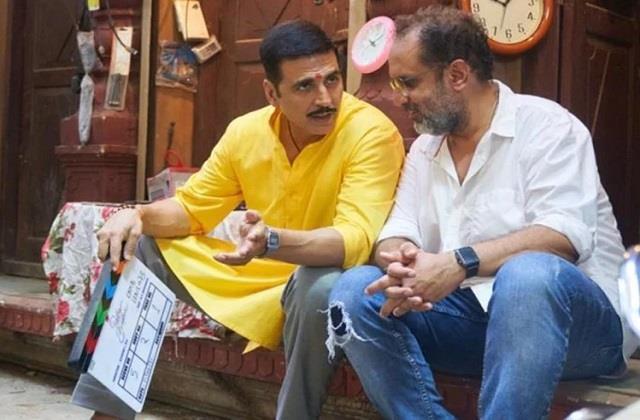 akshay kumar starts shooting of film raksha bandhan