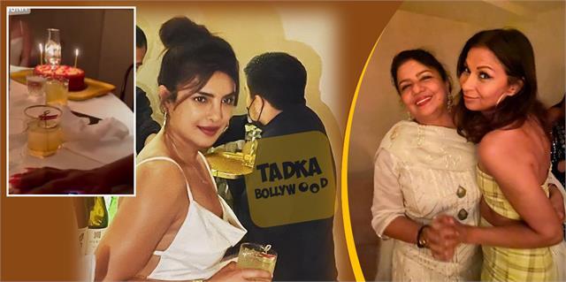 priyanka chopra celebrity mother madhu birthday at her restaurant sona