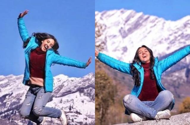 ashnoor kaur jumped with joy after cancelled 12th exams