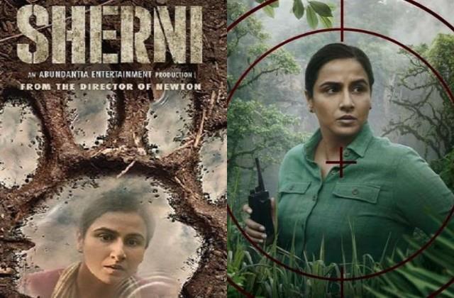 vidya balan movie sherni review