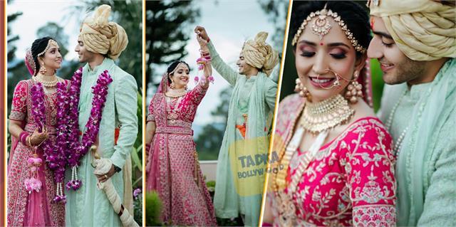 newly wed actor akshay kharodia share beautiful pictures with divya punetha