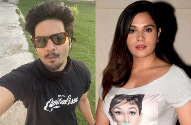 ali fazal shares selfie and girlfrienf richa chaddha comments