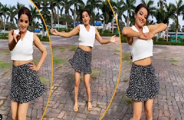 monalisa shares her dance video