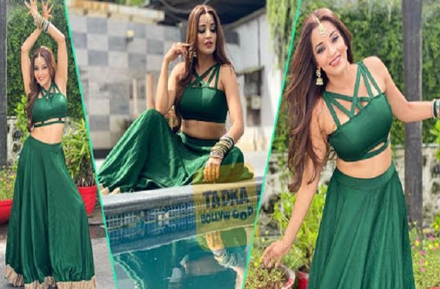 monalisa shares her beautiful photos in lehenga look