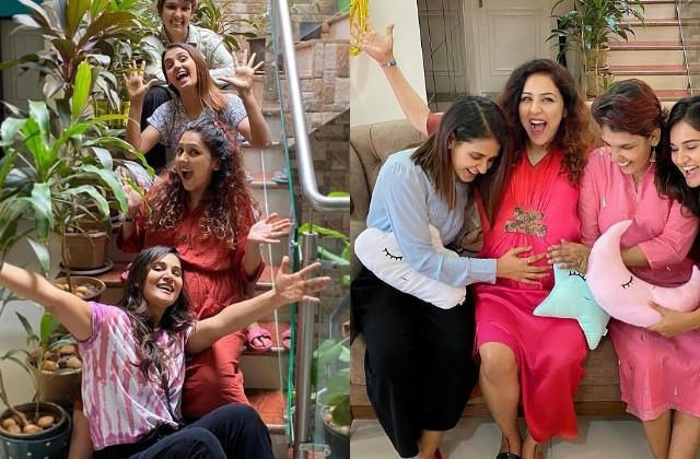 neeti mohan baby shower celebration photos viral