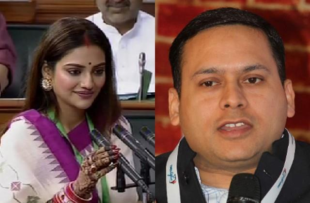 nusrat called her marriage invalid  bjp leader amit malviya raised question