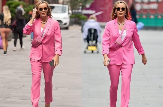 amanda holden spotted in london
