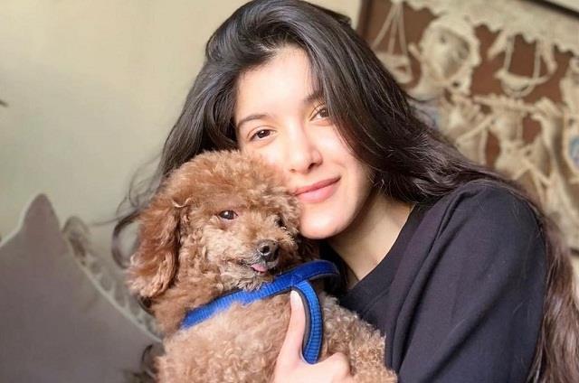 shanaya kapoor saddened by the death of her pet