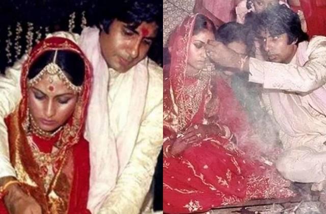 amitabh shares wedding photos with jaya bachchan on his 48th anniversary