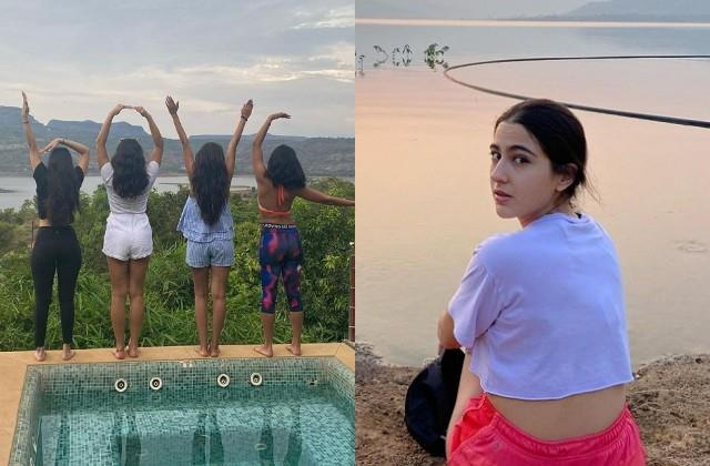 sara ali khan shares throwback photos of vacation with friends
