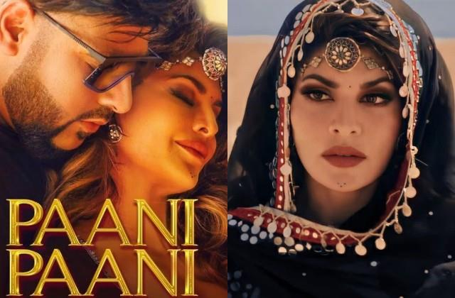 jacqueline fernandez and badshah new song paani paani released