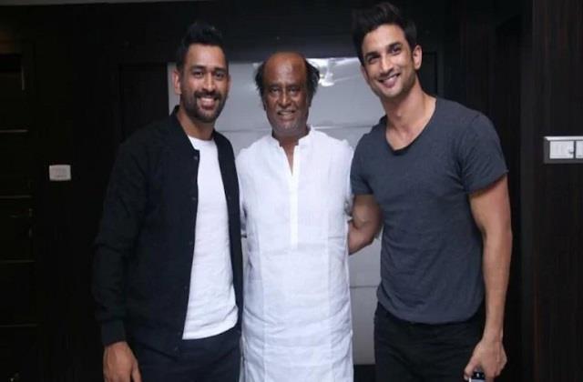 when sushant singh rajput met with superstar rajinikanth video viral