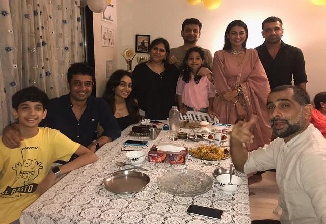 pavitra punia attended eijaz khan nephew birthday party
