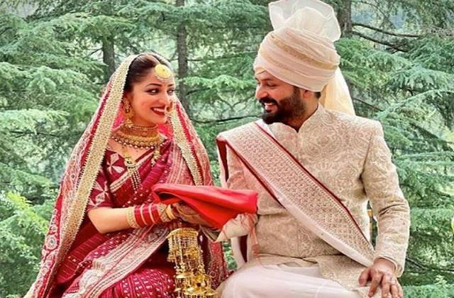 yami gautam ties the knot with director aditya dhar