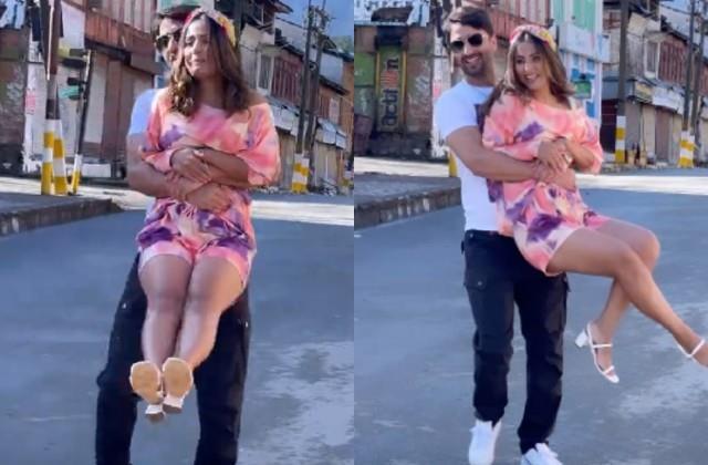 hina khan shares romantic video with shaheer sheikh