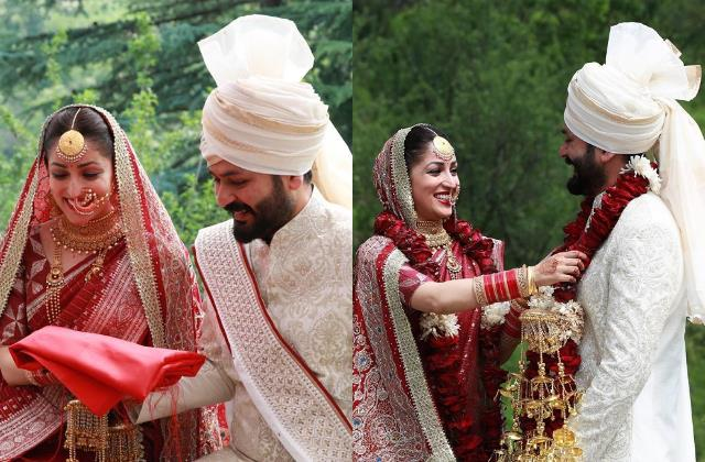 one month anniversary yami gautam shares a candid photo with hubby aditya dhar