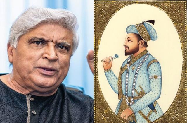 javed akhtar tweet 75 percent rajputana blood in shahjahan veins