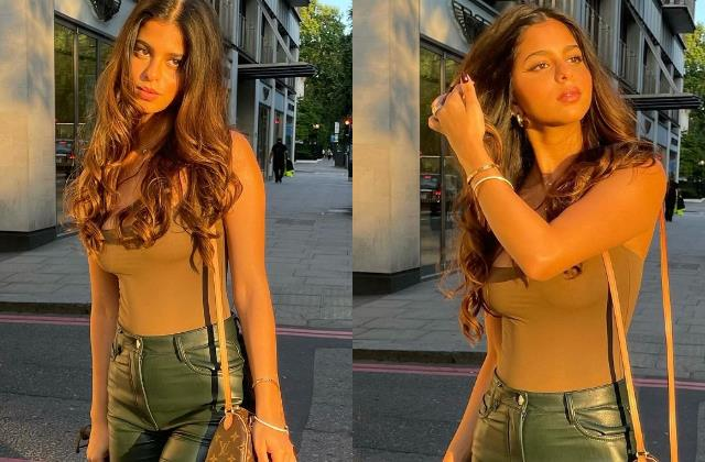 shahrukh khan daughter suhana khan looks glamorous in latest pictures