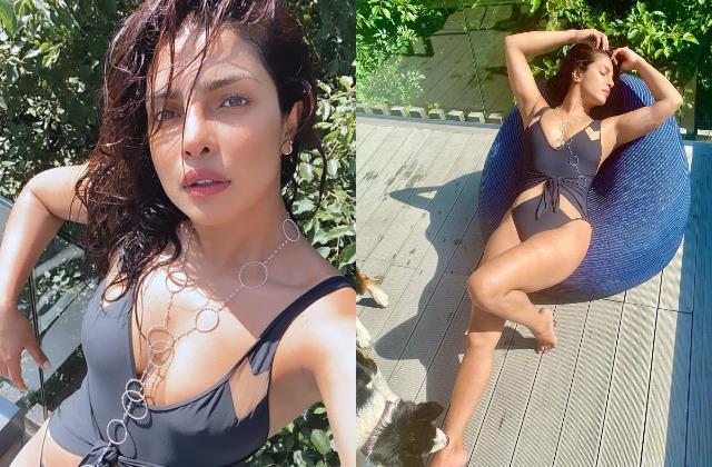 priyanka chopra jonas flaunts her toned body in swimsuit