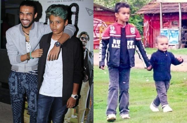irrfan khan son babil shares childhood photos with brother ayaan