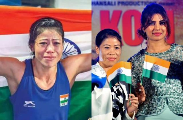 priyanka chopra randeep hail champion mary kom after she out tokyo olympics