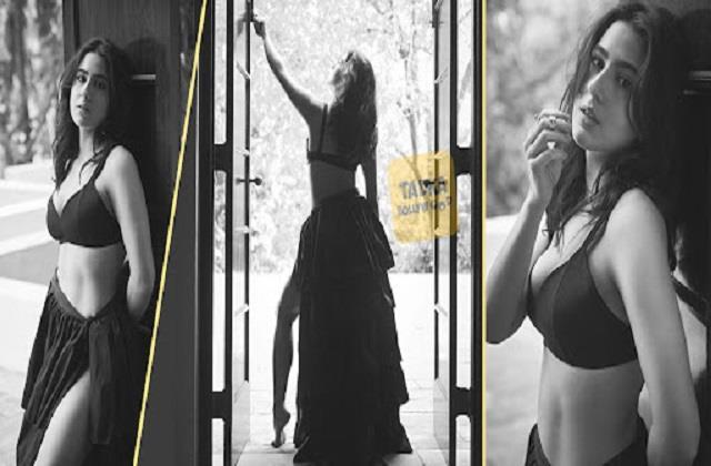 sara ali khan shares her hot photos
