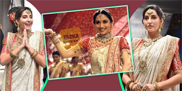 nora fatehi stuns fans by becoming chandramukhi of devdas