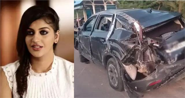 yashika aannand meets with a car accident one of her friend died