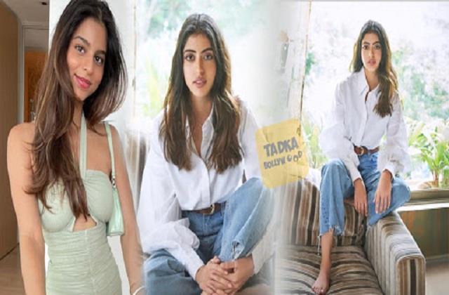 navya naveli nanda shares her photos best friend suhana khan comments