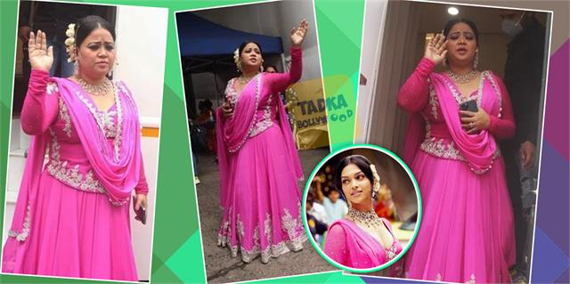 bharti singh copy deepika padukone shantipriya look from om shanti om