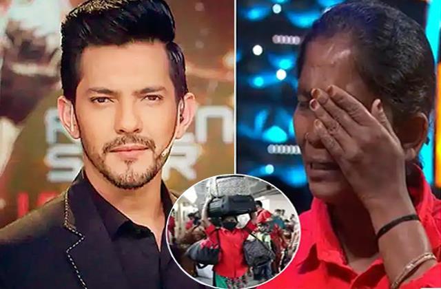 Indian Idol 12: कुली बन बच्चों को पाल रही मां को रोता देख पसीजा आदित्य नारायण का दिल, महिला के 4 बच्चों के नाम की 1 दिन की सारी कमाई
