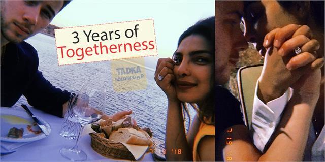 priyanka chopra and nick jonas celebrate 3 years of togetherness
