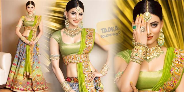 urvashi rautela reached wedding wearing clothes and jewelry worth 62 lakhs