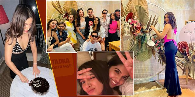 bhumi pednekar celebrates her birthday with sister and friends