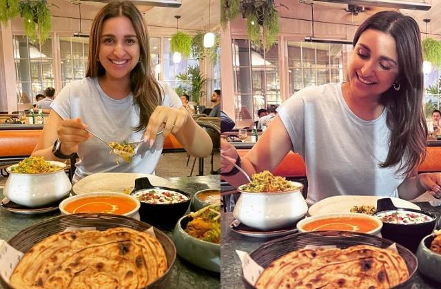 parineeti chopra said eating dal roti in london brought tears in her eyes