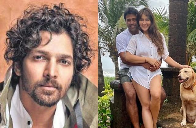 ex boyfriend harshvardhan rane reaction on kim sharma leander paes affair
