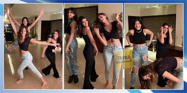 shanaya kapoor party with girl gang ananya panday navya nanda