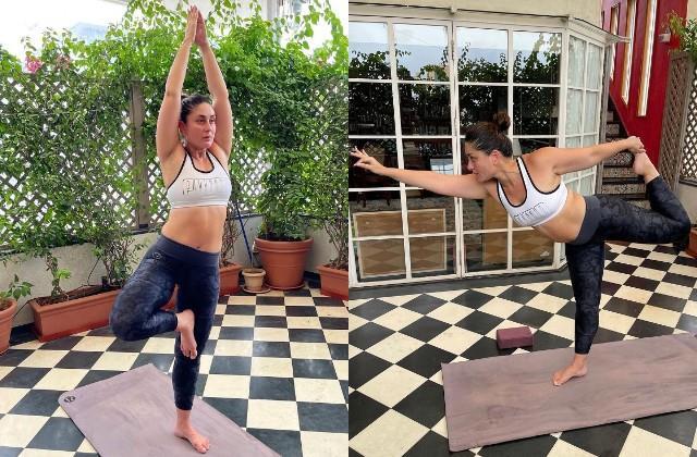 kareena kapoor yoga photos viral
