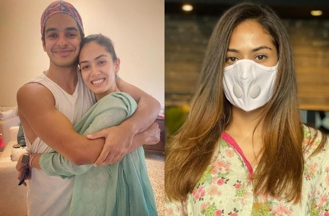 mira rajput shares her hair transformation look ishaan khatter comments