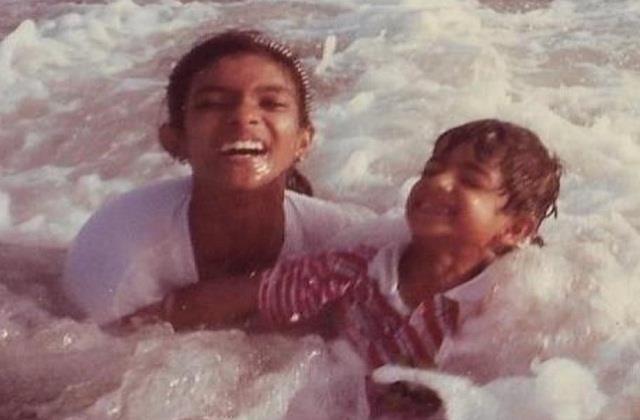 priyanka chopra birthday wishing her brother by sharing a childhood picture