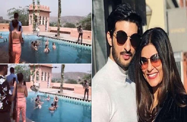 sushmita sen boyfriend rohman shwal shares his video in krishna avatar