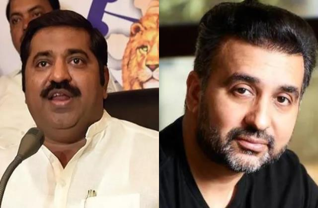 bjp leader said actress levelled allegations exploitation on raj kundra