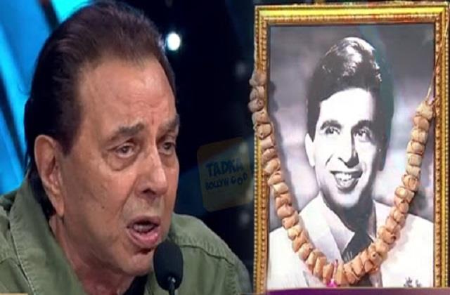 dharmendra gets emotional talking about late dilip kumar at indian idol 12